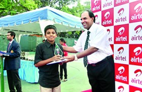 Chanith clinches U-10 National Tennis Title