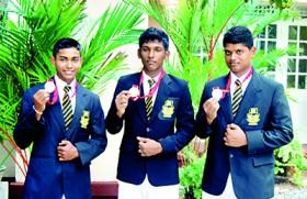 D.S. Senanayake oarsmen create history