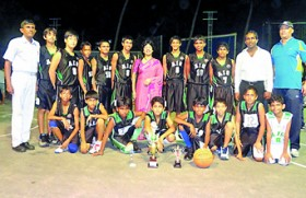 Asian International School  cager team is invincible