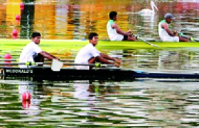 AIS emerges as a strong contender in schools' rowing winning 3 golds, 3 silver & 2 bronze medals at the national championships