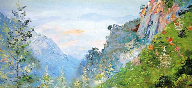 A Russian  �migr�'s  canvas in Ceylon