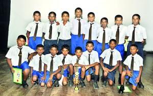 The Under-14 'B' team