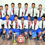 The Under-14 'A' team