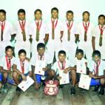The Under-16 team
