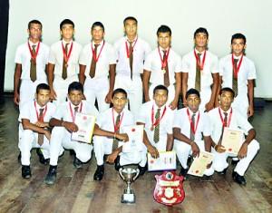 The Under-18 team