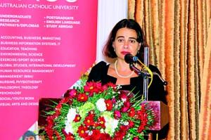 HE Robyn Mudie , Australian High Commissioner in Sri Lanka
