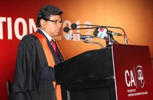 Secretary to the Ministry of Co-operatives and Internal Trade Mr. G.K.D Amarawardena