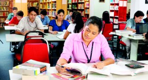 APIIT's well equipped library with access to digital libraries