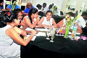Ladies College - first timers at TMC Wisdom Quiz