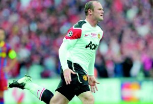 Wayne Rooney. AFP.
