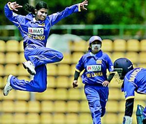 Sri Lanka Women's skipper Sashikala Siriwardene produced a useful all-round performance despite a Pakistan win at NCC.