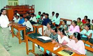 The Hindu while experts criticise this trend, college managements say the money from the government is not enough to run these courses — File Photo
