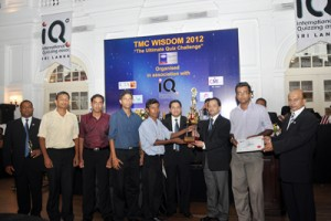 Winning team led by Chamara Sumanapala