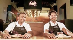Mahela Jayewardena and Kumar Sangakkara:  Ready to meet and dine with fans