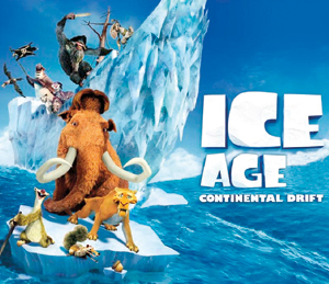 Return to ICE AGE continental drift