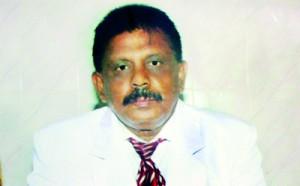 The Present Principal Mr. M.D. Gunasiri