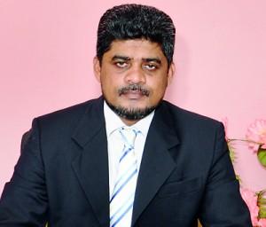 The Present Principal Mr.M.A.M.Mashair