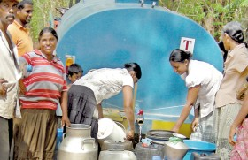 Parched Polonnaruwa cries for water