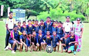Champions- Trinity U 12 A Team
