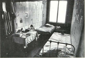 The secret annex in which Anne and her family hid.