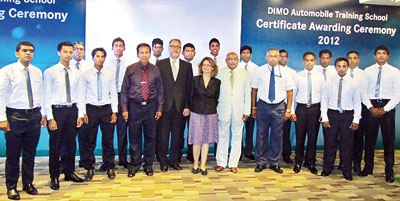 DIMO Automobile Training School (DATS) Graduation