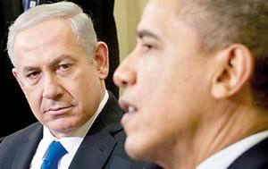 Barack Obama and Benjamin Netanyahu (left) speak in the Oval Office March 5, 2012 (AFP)