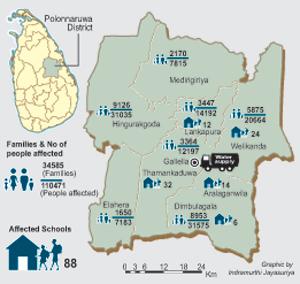 Polonnaruwa-Drought-map