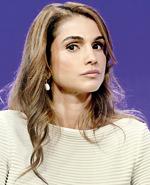 Queen Rania Al Abdullah of Jordan attends the Clinton Global Initiative September 23. AFP