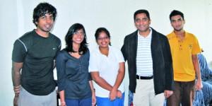 Recent Sri Lankan Students at VSMU