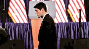 The Republican vice-presidential candidate, Paul Ryan (Reuters)