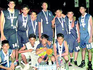 Standing from left: Joash Corera, Rushdy Ashroff, Sheik Moulana, Jacques Gunawardena, Sadun Bambarandage, Shizan Fairooz, Adeeb Jawhar, Pasan Athukorala, Nashad Rilwan and Vibudha Ranasinghe. Front row from left: Vishen De Silva, Hirun Ratnayake, Jayden Ferreirs, Kisal Nawalage and Sandeep Gunaratne.