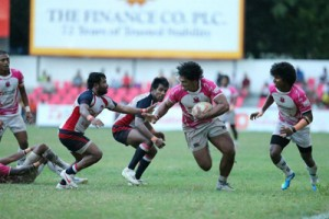 Havelocks managed to drub Kandy in the league competition. - Pic SLRFU