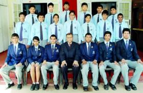 New torch bearers at St. Nicholas' International School Colombo