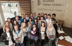 Rivil Guide students to Sheffield Hallam University, UK
