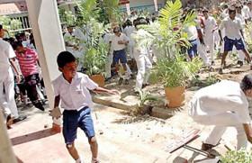 Rumpus at Vidyaloka:  Mob education  to the fore