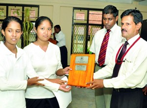 Bandarayanake Central overall runner-up in girls category