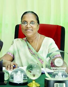 The Present Principal Mrs. Saraswathi Dahanayaka