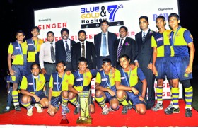 Royal record hat-trick as Pushpadana defend title