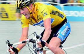Embattled Lance Armstrong vows to move forward