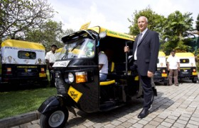 Germany supports green transportation through gas three-wheelers
