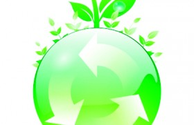 Recycling to 'go green'