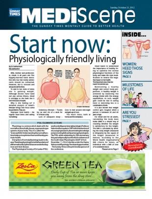 Medi Scene Cover Page
