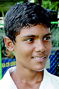 Hasthi Pramodhya, school cricketer - Despite a big crowd  coming for weekend matches it is not the most convenient period for the players. They have to practice during the weekdays and then play during the weekends so this will hinder their studies.