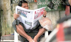 Myanmar's state media to become 'public service' press (AFP)