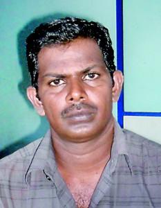 Sinniah Baskaran PTI and Pole Vault Coach of Arunodaya College Jaffna.