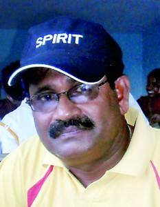 T.M. Devendran Chairman Schools (North and East)  Athletic Development.
