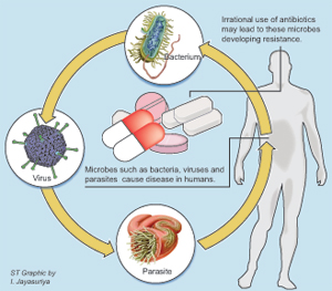 Unthinking use of antibiotics could result in medicine-resistance