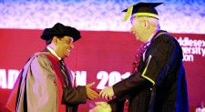 Jagath Alwis conferred with a Honorary Doctorate by Middlesex University UK