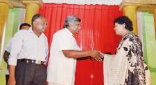School for the Blind Ratmalana awarded  'Suwasthi Siddam'