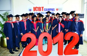 Middlesex University Graduation 2012, in association with ICBT Campus